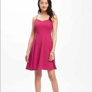 Old Navy Fit & Flare Mini Cami Dress